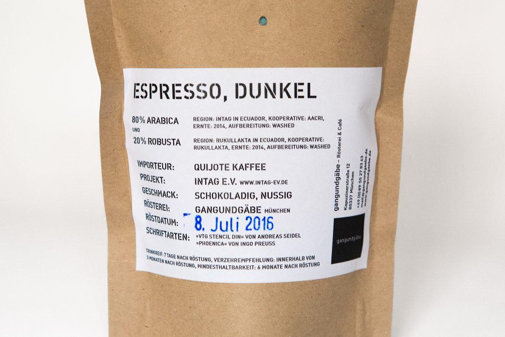unsere aurum:media-Kaffee-Mischung